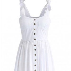 White Chicwish Cami Dress